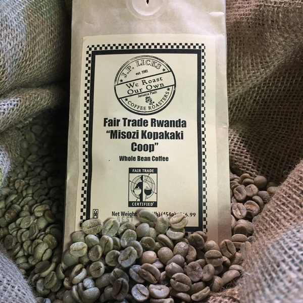 Featured Coffee - Fair Trade Rwanda