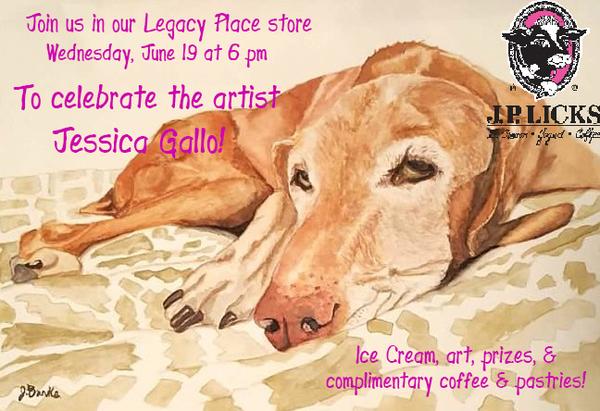 Artist Reception with Jessica Gallo