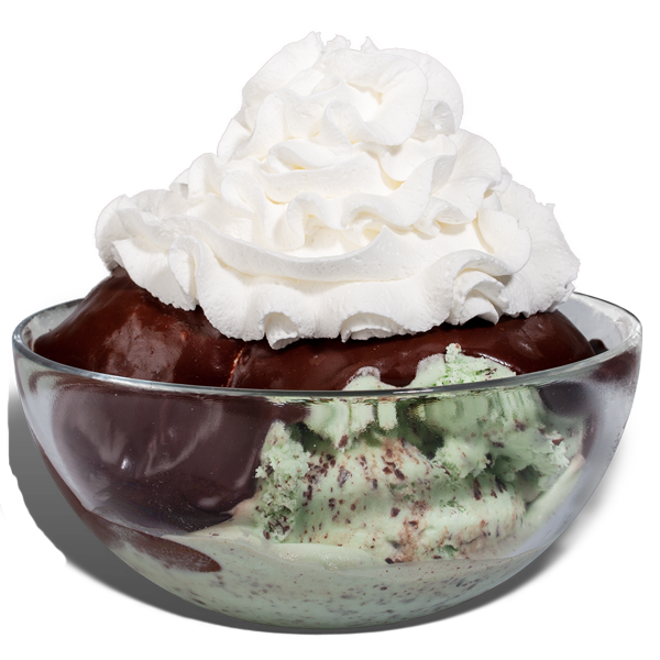 Mint Irish Lace Sundae